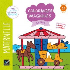Coloriages magiques - La fête MS