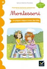 Premières lectures autonomes Montessori Niveau 3 - Le pique-nique avec Bertille
