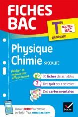 Fiches bac Physique-Chimie Tle (spécialité)