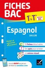 Fiches bac Espagnol 1re/Tle  - Bac 2022