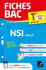 Fiches bac NSI Tle générale (spécialité) - Bac 2022
