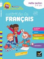 Chouette maternelle Activités de français Petite Section