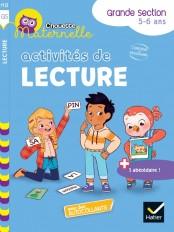 Chouette maternelle Activités de lecture Grande Section