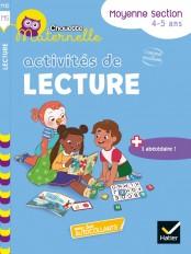 Chouette maternelle Activités de lecture Moyenne Section