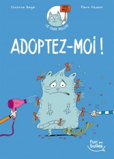 Le chat pelote T1 - Adoptez-moi