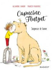 Capucine Flutzut soigneuse de lionne