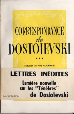 Correspondance de Dostoïevski, t.III