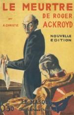 Le Meurtre de Roger Ackroyd - facsimile prestige