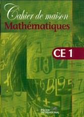 Cahier de maison - Mathématiques CE1