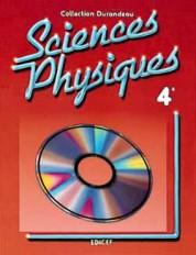 Sciences physiques Durandeau 4e