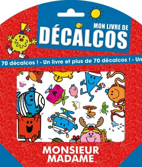 Monsieur Madame Mon Livre De Decalcos