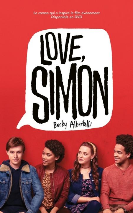 Love Simon - tie-in (Moi, Simon, 16 ans, Homo Sapiens)