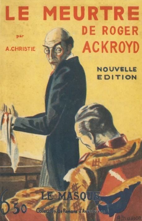 Le Meurtre de Roger Ackroyd - Fac-similé prestige
