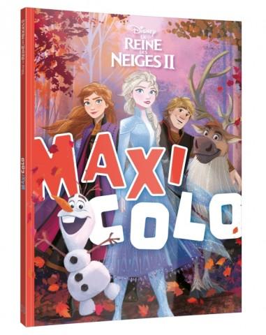 LA REINE DES NEIGES - Maxi-Colo - Disney