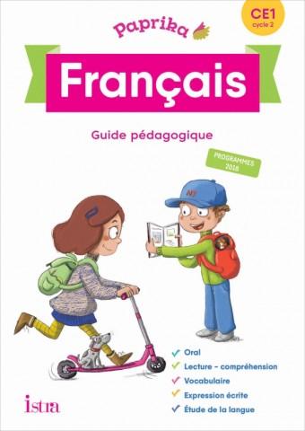 Paprika Français CE1 - Edition France - Guide pédagogique + CD - Ed. 2019