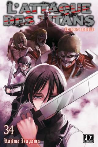 L'Attaque des Titans T34 Edition limitée