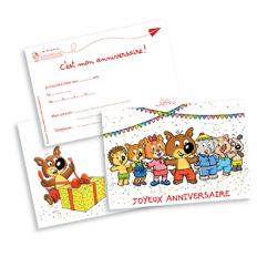 Un kit d'anniversaire Mini-Loup !