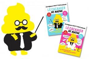 Les cacahiers du Professeur Krottinus, ou comment faire aimer les maths à vos enfants