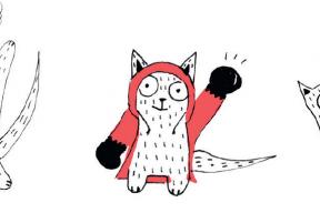 La véritable histoire du petit chaperon rouge et de son chat Marcel