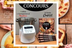 Concours : remportez un robot Companion et des livres de cuisine avec Dessain & Tolra, Moulinex et Chefclub