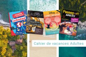 Été 2021 : notre sélection de cahiers de vacances pour adultes