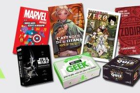 Noël 2016 : quel livre offrir à un(e) geek ?