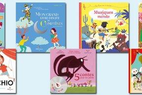 7 livres-disques pour initier les enfants à la musique