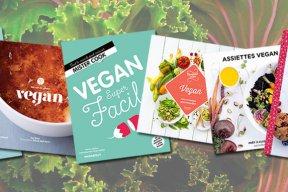 6 livres de cuisine vegan