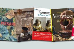 6 livres sur Vermeer et Pissarro