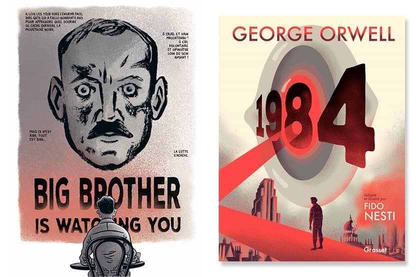 """""""1984"""" : le roman culte de George Orwell pour la première fois en roman graphique"""