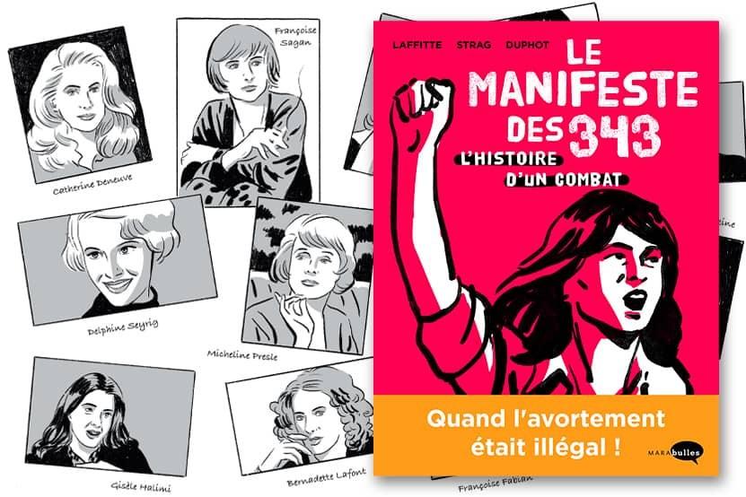 """""""Le Manifeste des 343"""" : l'histoire d'un combat se raconte en bande dessinée"""