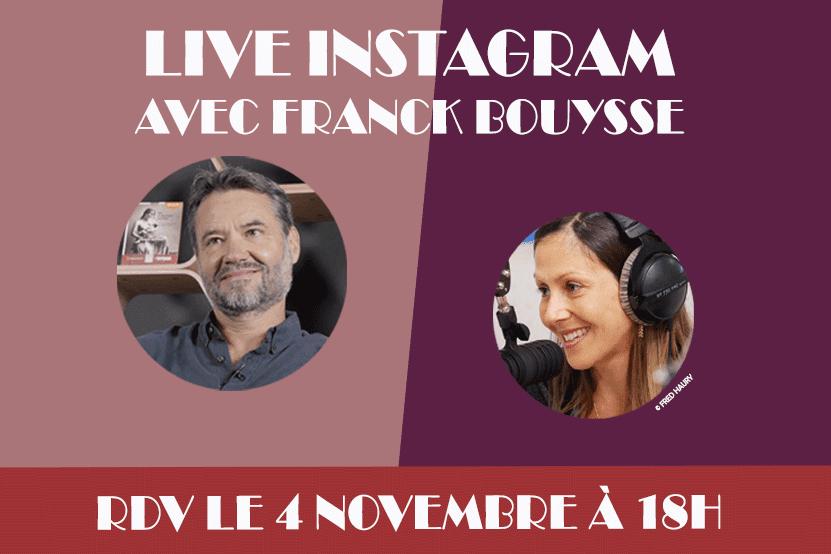 """Franck Bouysse : retrouvez l'auteur de """"Né d'aucune femme"""" en live Instagram le 4 novembre 2020"""