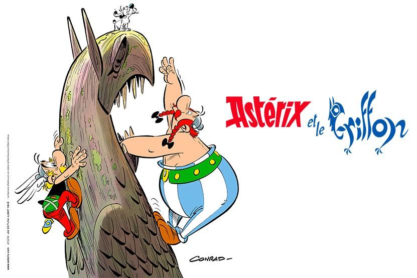 """""""Astérix et le Griffon"""" : le prochain album se dévoile"""