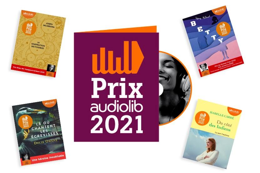Prix Audiolib 2021 : découvrez les 10 livres audio en lice