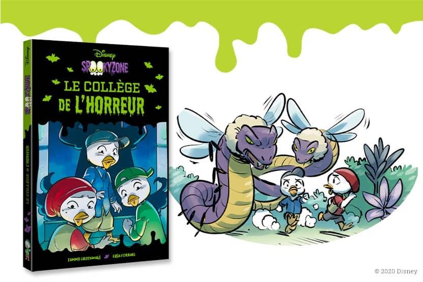 """""""Spookyzone"""" : direction le collège de l'horreur avec les éditions Hachette Jeunesse Disney"""