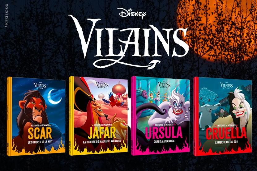 Amusez-vous avec les Vilains Disney grâce aux éditions Hachette Jeunesse Disney