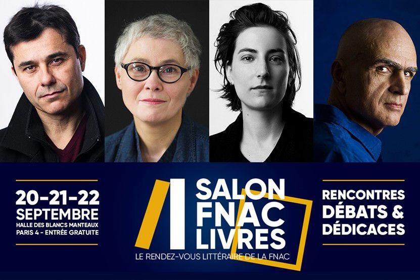 Salon Fnac Livres 2019 : retrouvez tous nos auteurs présents