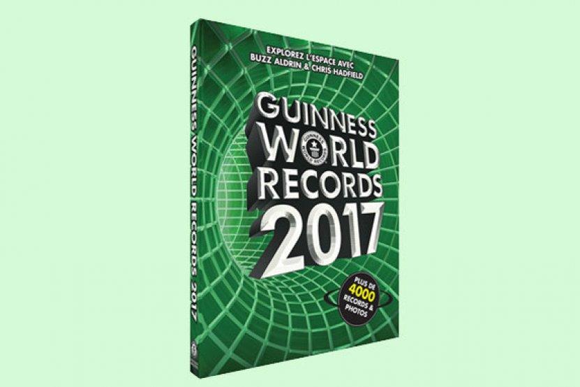 Guinness World Records 2017 + GWR Gamer's édition : déjà en librairie !