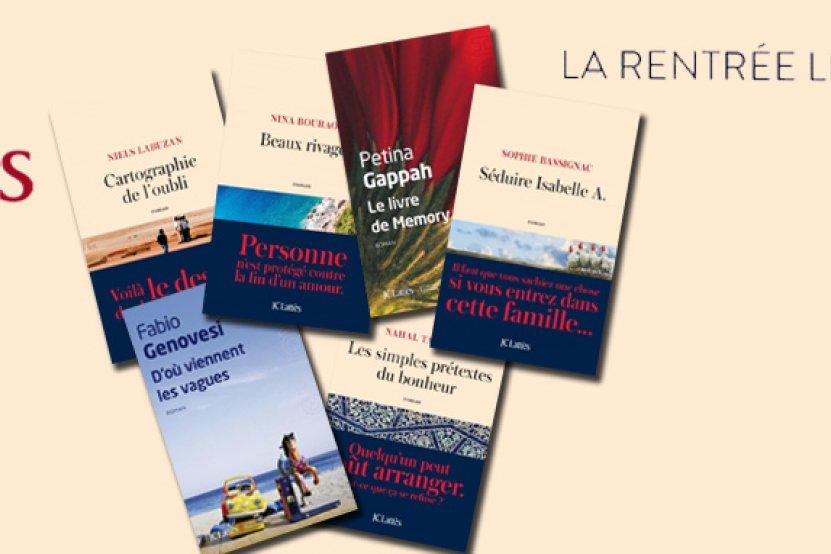 Rentrée littéraire 2016 : un aperçu des éditions JC Lattès en musique