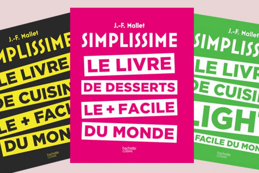 Des desserts simplissimes avec le tout dernier Jean-François Mallet !