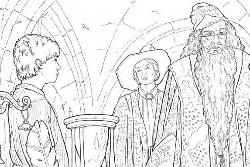 Loisir cr atif 4 coloriez harry potter - Harry potter livre pdf gratuit ...