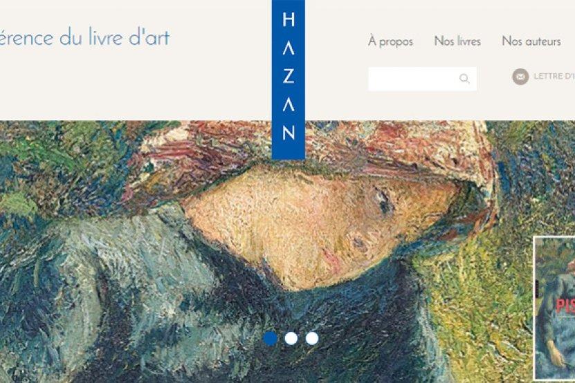 Les éditions Hazan s'offrent un nouveau site