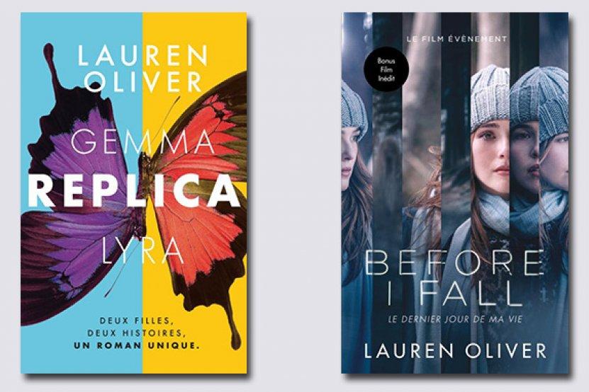 """""""Replica"""" : le dernier roman de Lauren Oliver enfin en France !"""