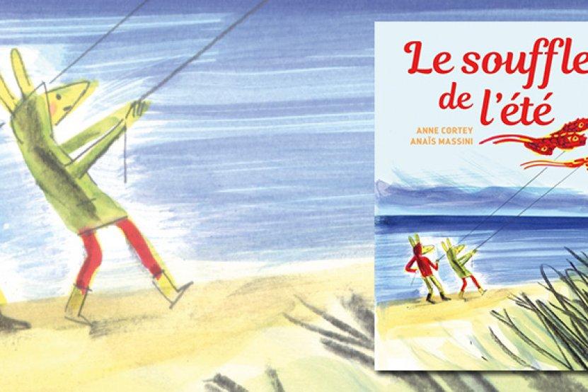 """""""Le souffle de l'été"""" : le nouvel album ensoleillé d'Anne Cortey et Anaïs Massini"""