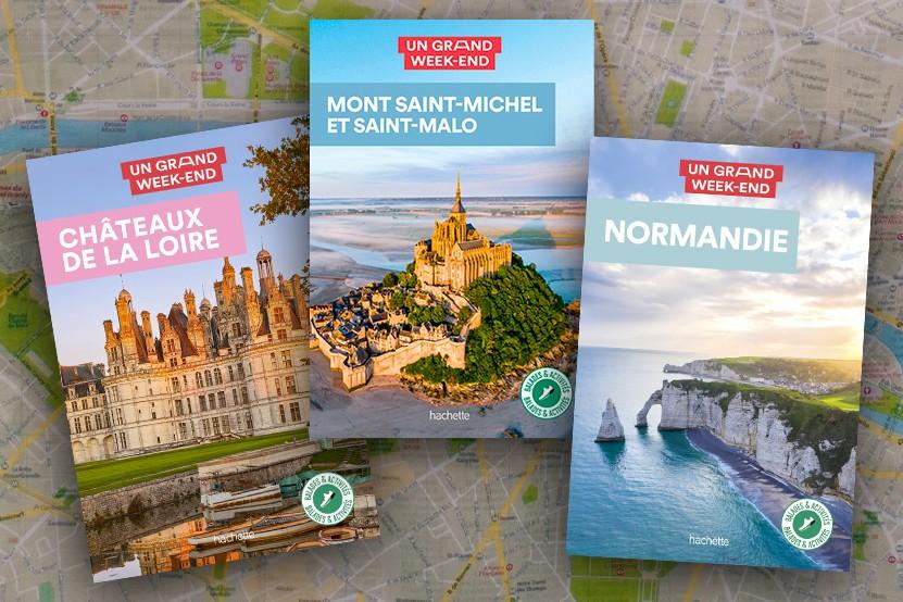 """Tourisme : les guides """"Un grand week-end"""" font peau neuve !"""