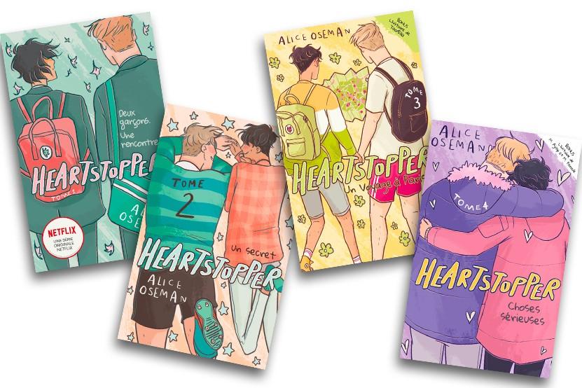 """""""Hearstopper"""" : le roman graphique d'Alice Oseman devient une série Netflix !"""