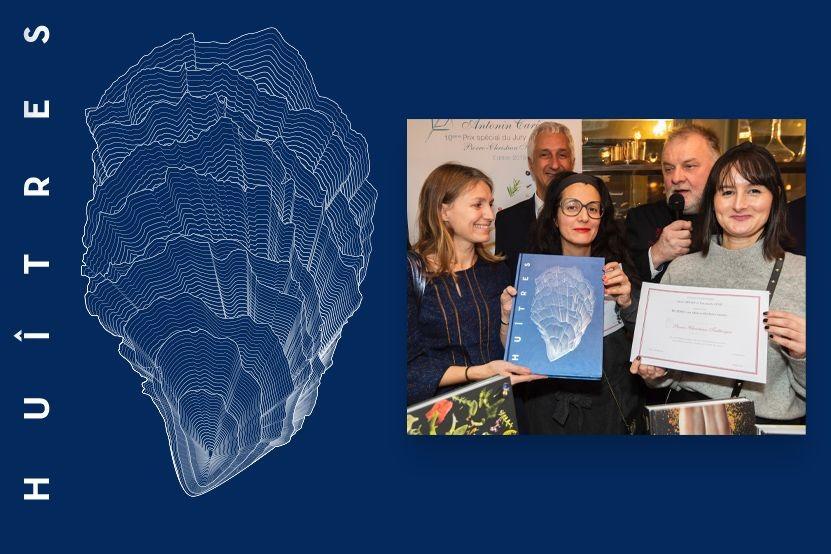 """""""Huîtres"""" : le livre qui célèbre l'ostréiculture récompensé duPrix Spécial du juryPierre-Christian Taittinger"""