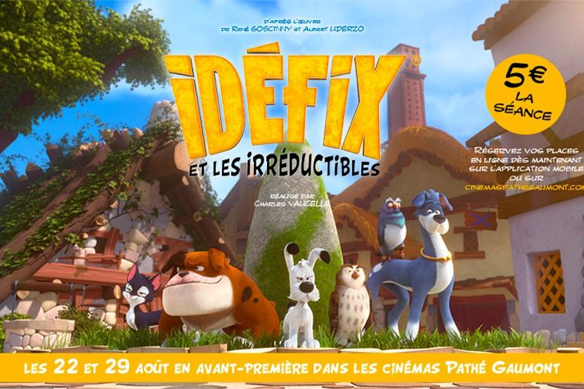 """Découvrez """"Idéfix et les Irréductibles"""" en avant-première au cinéma"""