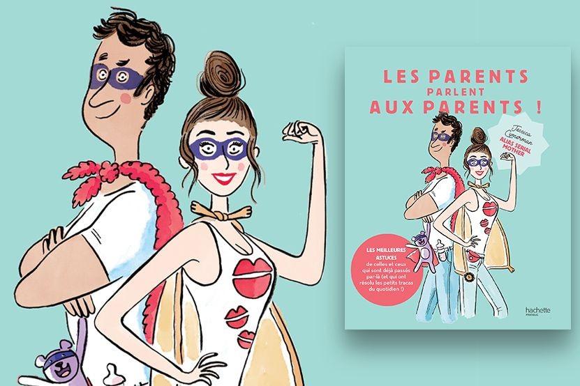 """La """"Serial Mother"""" Jessica Cymerman revient en librairie avec """"Les parents parlent aux parents !"""""""