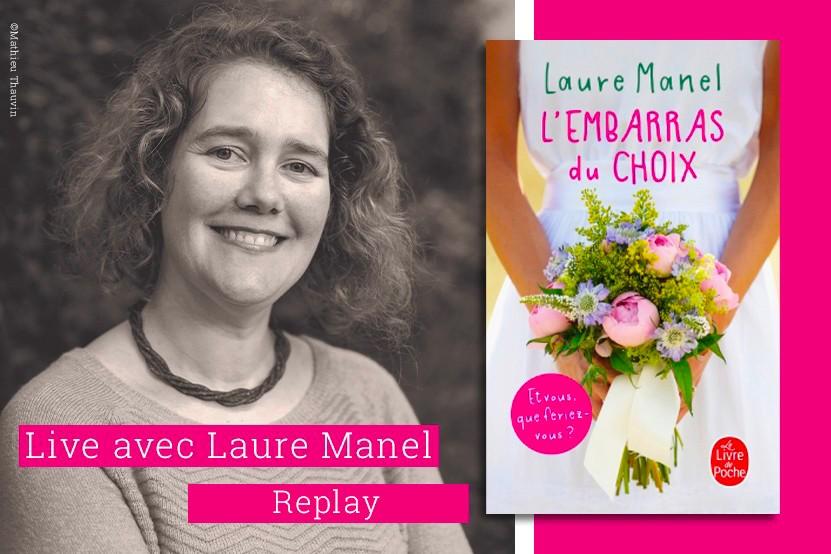 Replay : (re)découvrez le Facebook Live de Laure Manel